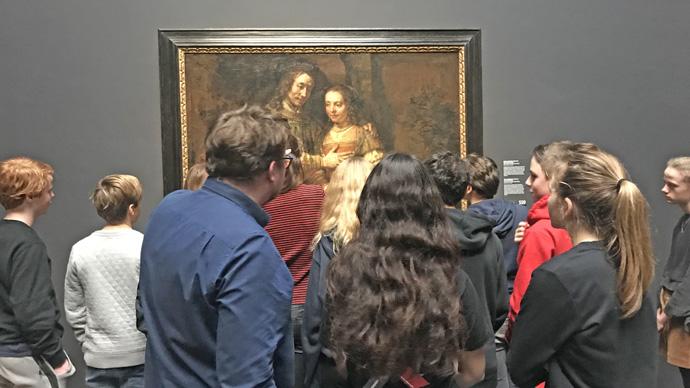 Vossius bezoekt Rijksmuseum