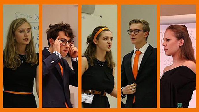 Vossiaan in de finale Oxford debatwedstrijd
