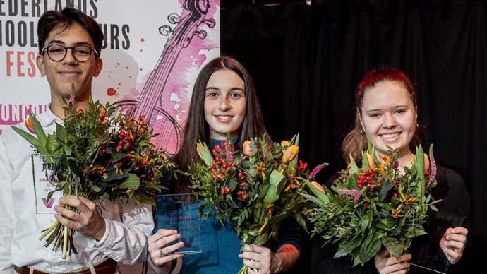 Tweede prijs Nederlands Viool concours