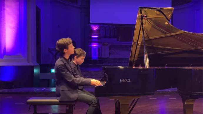 Winnaars Pianoduo Festival